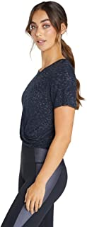 Rockwear Activewear Women's Bloom Knot Front Tee from Size 4-18 for T-Shirt Tops
