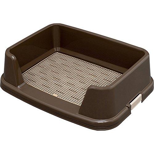 アイリスオーヤマ トレーニング犬トイレ ブラウン ワイドサイズ用 1個 (x 1)