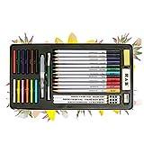 Betrothales 32 Piezas De Crayones Crayones Chic con Caja De Hierro para Principiantes Y Los Artistas Profesionales Dibujan Sombras Y Colores. (Color : Colour, One Size : One Size)