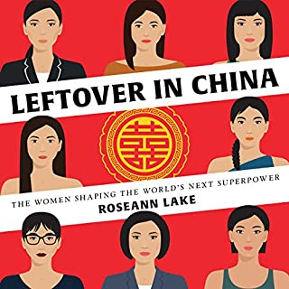 Leftover in China audiobook cover art