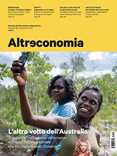 Altreconomia 198 - Novembre 2017: L'altro volto dell'Australia (Italian Edition)