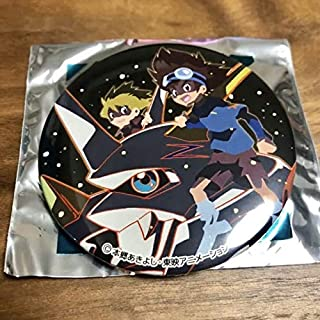 デジモンアドベンチャー ぼくらのウォーゲーム 缶バッジ 太一 ヤマト オメガモン
