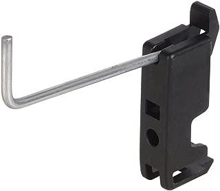 Vosarea 20 Unids Slatwall Deluxe Hooks Display Panel Hooks Slatwall Hooks Display Hooks para Panel Colgador Display