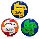 Pelota de balonmano Nuage 3 tamaños Niños Juventud Mujeres (#2, Rojo Naranja)