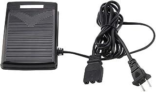 電子ミシン用 フットコントローラー SINGER 4411/4423に適用 プレミアムミシンアクセサリー ペダル 電子フットコントローラー 電源コード交換付き ホーム ミシンフットペダル スピードコントローラー(US Plug)