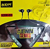 KDM G2 Platinum Series 24x7 Edition Neckband Wireless Earphone with Magnetic Ear Buds