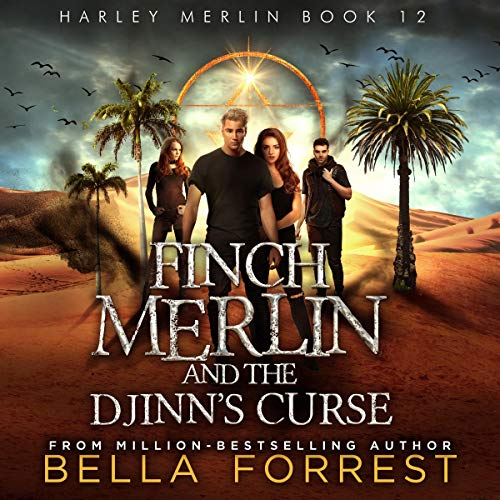 Page de couverture de Finch Merlin and the Djinn's Curse