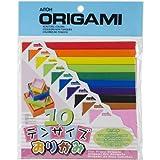 Aitoh Papel de Origami, 100 tamaños Surtidos, Paquete de 100