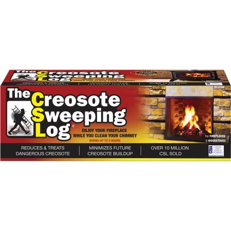 Save %9 Now! Creosote Sweeping Log - 3 Pack
