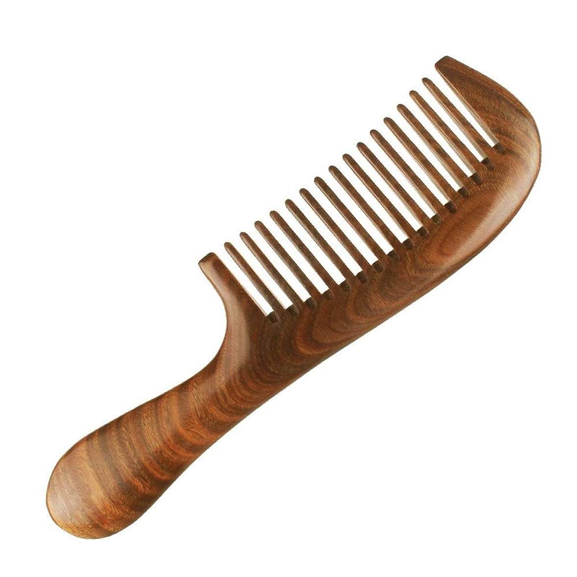 ライター素晴らしさステートメント白檀の櫛の歯の幅には、柄があります 天然緑檀の手作りで、つややかな丸みと滑らかな髪を整えます マッサージ長さ200 mm*幅54 mm*厚さ12 mm歯3.0 mm