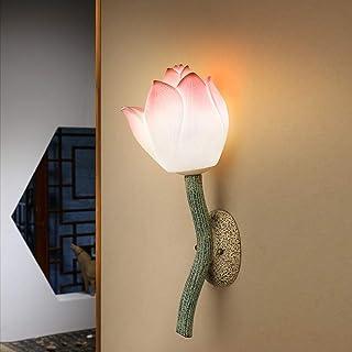 WHSS Applique murale moderne et minimaliste à LED en forme de lotus - Éclairage décoratif pour salon, hôtel, club, couloi...