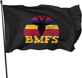 BMFSビリーストリングスビンテージサンセットヤギフラグバナーガーデン3 * 5フィート