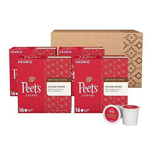 Peet's Coffee Holiday Blend, Dark Roast (64 K-Cups)