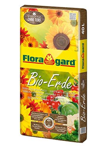Floragard Bio-Erde ohne Torf 40 L