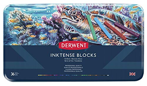 Derwent Inktense Ink Blocks, 36 Count (2301979)