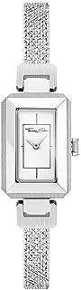 Women-Watch Mini Vintage Silver Analog Quarz WA0330-201-202-23x15,5 mm