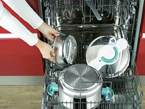 Seb P4624816 ClipsoMinut' Easy Autocuiseur Inox Tous feux dont induction et Livres 100 recettes...
