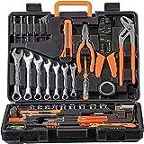 WMC TOOLS Werkzeug Set 600 teilig Werkzeug Haushalt Werkzeugkoffer für Heimwerker und Profi mit...