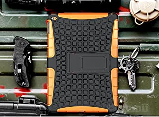 Cocomii Grenade Armor iPad Air 2 Case New [Heavy Duty] Premium Tactical Grip Kickstand Shockproof Hard Bumper [Military Defender] Full Body Dual Layer Rugged Cover for Apple iPad Air 2 (G.Orange)