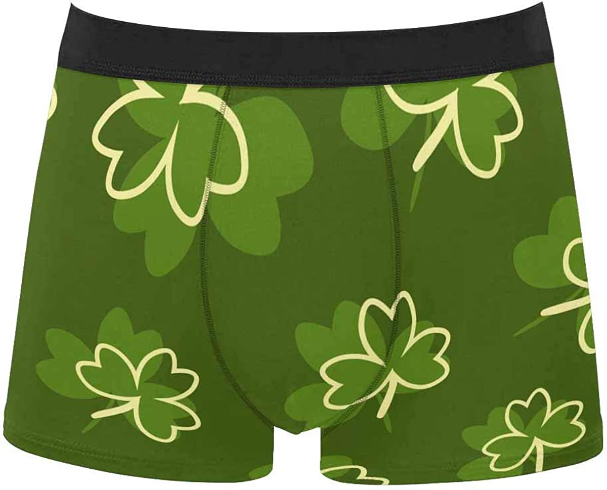 InterestPrint All Over 1 year warranty Raleigh Mall Print Breathable for Mens Brief Underwear