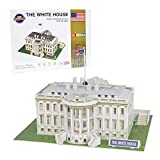 FREENFOND 3D Puzzle White House Model Building Paper Craft Kits and Toys for Children and Teens, Adults