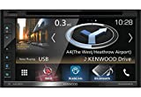 Kenwood Système de Navigation 6.8'' WVGA Bluetooth Noir