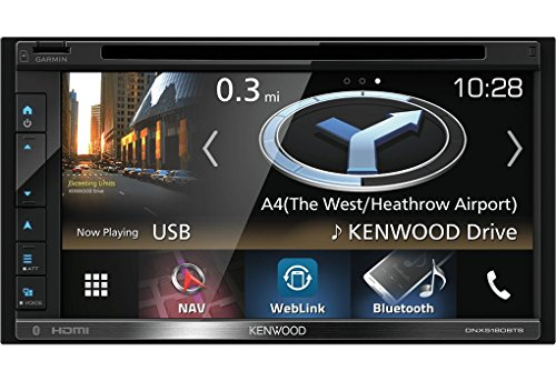 Kenwood Electronics DNX5180DABS 200W Bluetooth Schwarz - Auto Media-Receiver (Schwarz, 2 DIN, 200 W, 50 W, 2,402-2,48 Hz, Android, iOS)