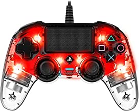Nacon Wired llluminated Compact PlayStation 4 Controller - Red