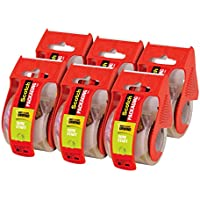 6-Pack Scotch Sure Start Shipping Packaging Tape