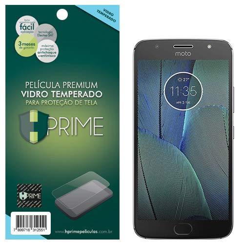 Pelicula de Vidro temperado 9h HPrime para Motorola Moto G5S Plus, Hprime, Película Protetora de Tela para Celular, Transparente