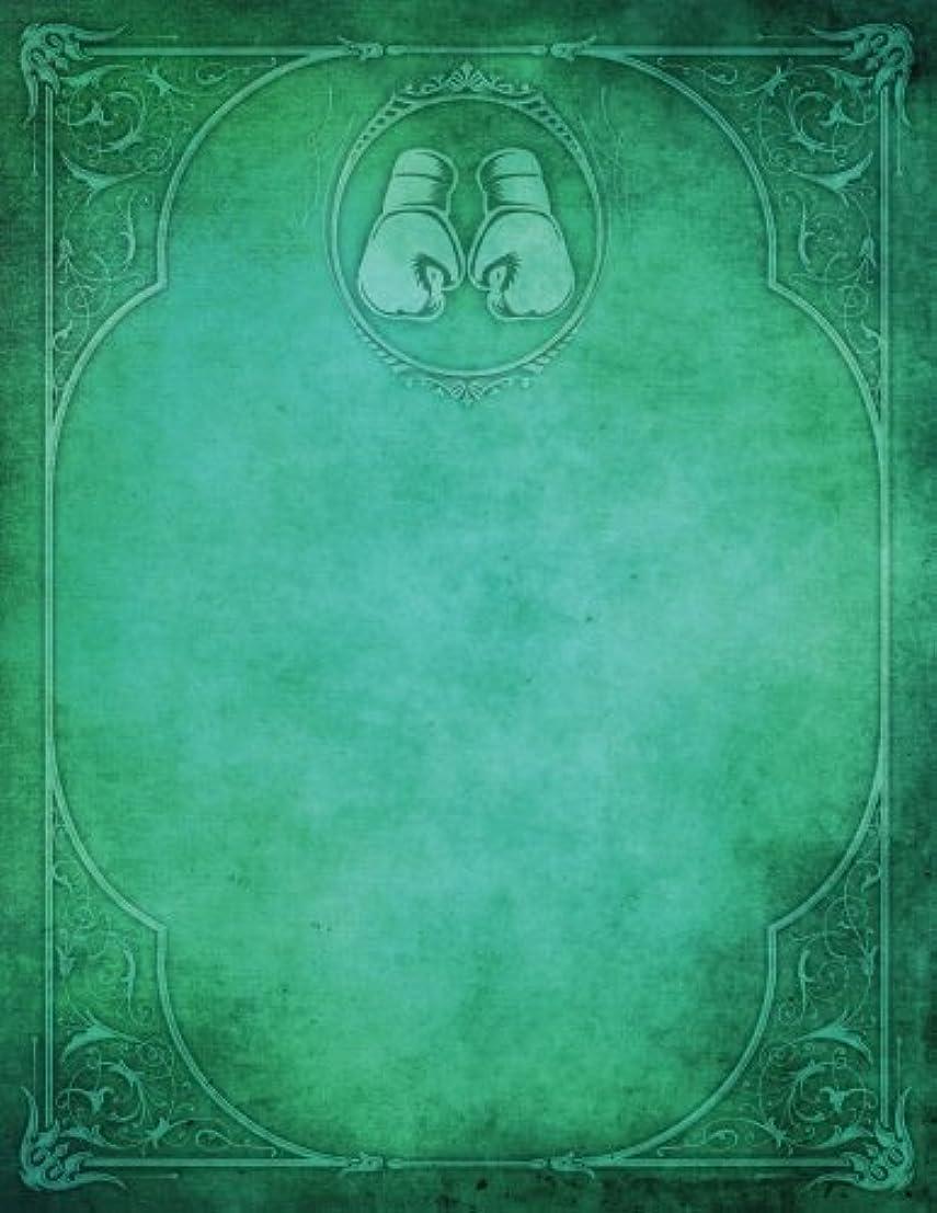 臭いフォーマルトレイルMonogram Boxing Blank Sketchbook: Art Sketch Pad Notebook (Monogram Elegance 150 Sketch)