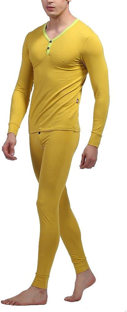 Louis Rouse Men's Cotton Thermal Underwear Suit