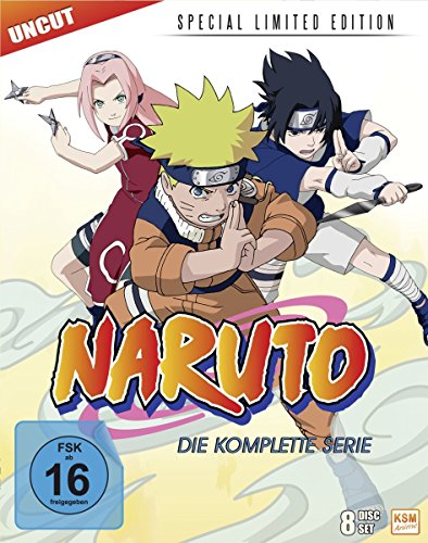 Naruto - Special Limited Gesamtedition (8 Disc Set) (Blu-ray)