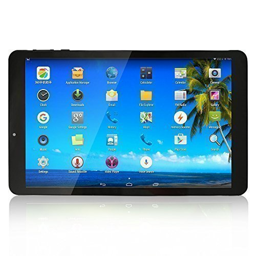 Yuntab K03Tablet 10.1pollici 1,2GHz Quad Core Tablet 3G Android 4.4IPS 1280* 800(8GB Flash 1GB RAM, GPS, WiFi, Tablet 3G Doppia scheda SIM per Internet e chiama)