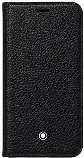 Montblanc Meisterstück Soft Grain Flipside Stand Up Case for Apple iPhone XR Black 16 cm
