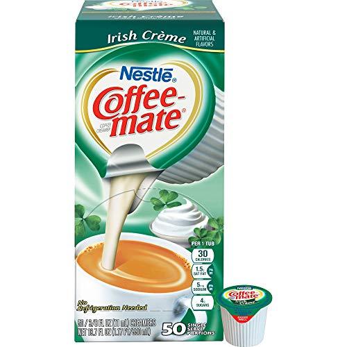 Coffee-mate 35112 Liquid Coffee Creamer, 50/BX, Irish Creme