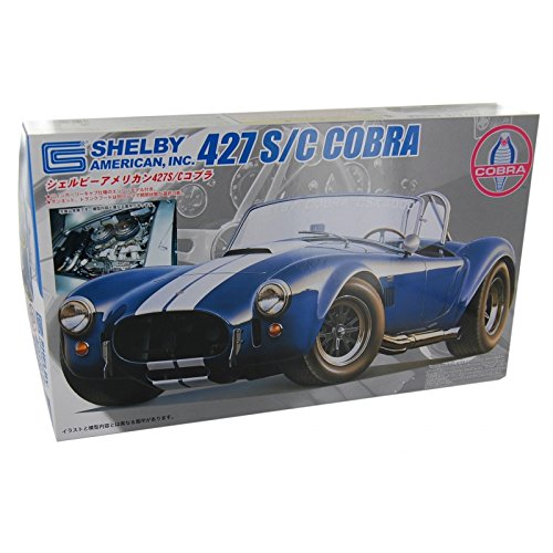 1/24 Shelby Cobra 427SC (Model Car) Fujimi Real Sports Car|