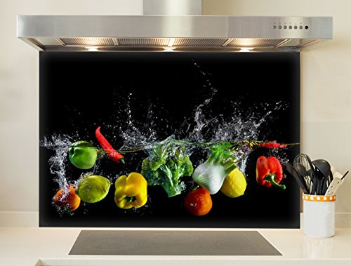 Credence, Fond de hotte - Bain de légumes
