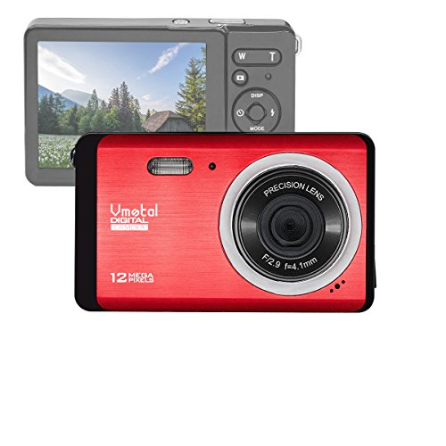 Vmotal GDC80X2 Kompakte Digitalkamera mit 8X Digitalzoom / 12 MP/HD Kompaktkamera / 2,8