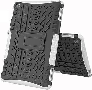 FanTings Funda para Huawei MediaPad M5 Lite, [Armadura Delgada] [Doble Capa] [Protección Pesada] Rugged Híbrido Resistente...