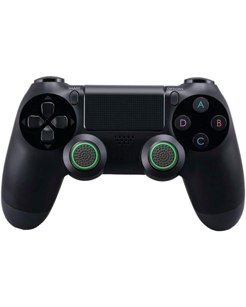 EUYOUZI Thumb Grips Thumbstick Stick Joystick Cap Cover for PS4 PS3 Xbox One Xbox One S and Xbox 360 4pcs (Green): Amazon.es: Hogar