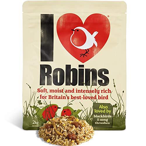 Robin Food I Love Rode keeltjes voedsel voor rode ketels, mieren en smoors, 2 kg