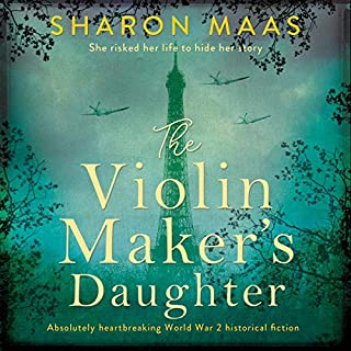 The Violin Maker's Daughter audiobook cover art