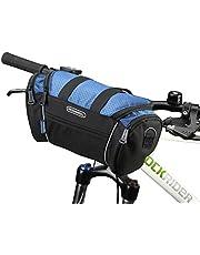 自転車フロントバッグ ROSWHEEL ハンドルバーバッグ 自転車用バッグリアバッグ フレームバッグ 簡単装着 収納力抜群 二色選択可能