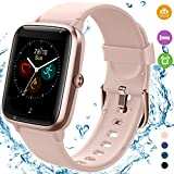 [2020 Latest] High-End Fitness Trackers,Health Sports Smart Watch with Heart Rate & Sleep