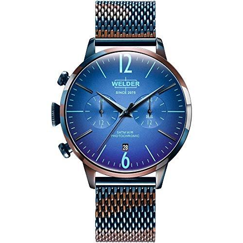 Reloj Welder WWRC820 Smoothy Hombre Azul Acero