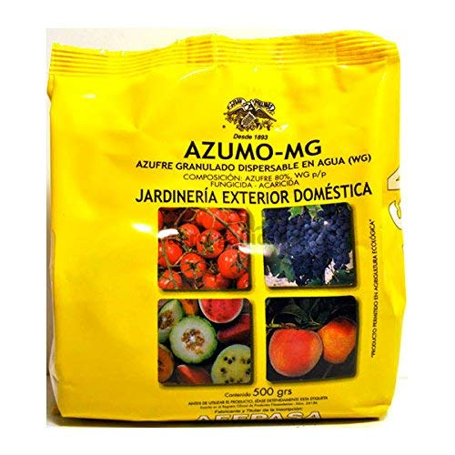 Azufre 80% - Agricultura Ecológica - 500g