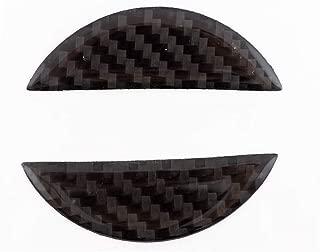 Hood Trunk Emblem Filler Insert Decal For Nissan 350Z Z33 370Z Z34 - Carbon Fiber