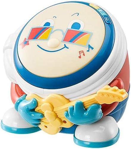 LLRDIAN Babymusik Handtrommeln Babyspielzeug 6-12 Monate wiederaufladbare 0-1 Kindermusiktrommel