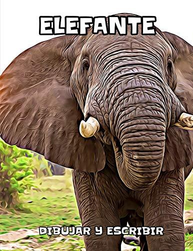 Elefante: dibujar y escribir